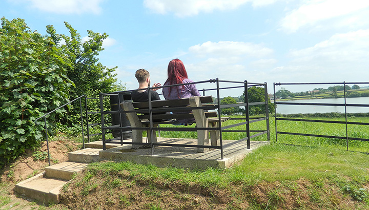 A photo of The Observation Platform at Durleigh